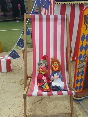 Mr Punch, Punch and Judy, puppet, puppet show, puppetry, Miraiker, Miraiker's World of Puppets, puppet maker, carved puppet, wooden puppet, puppet shows, Punch and Judy shows, children's entertainer, arena events, puppet workshop, circus workshop, balloon modelling, magic show, children's event